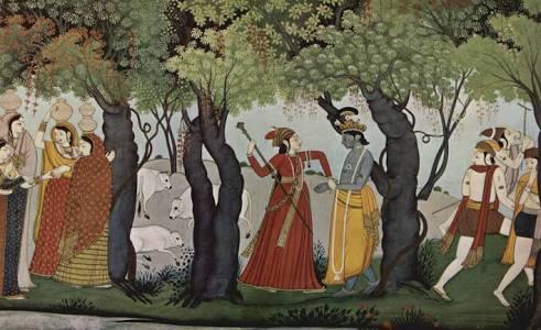 Krishna With Gopies