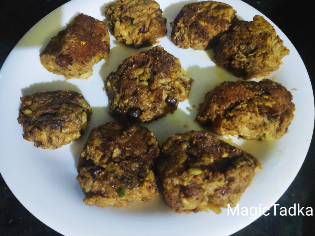 Veg Yam Kabab